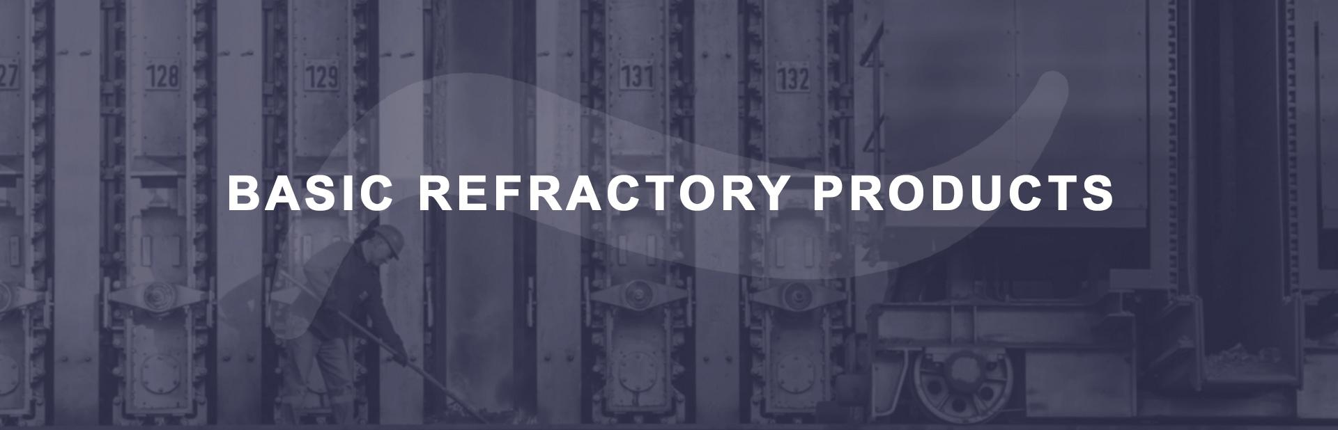 Basic refractory products banner